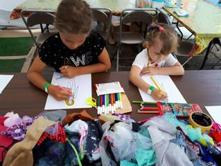 Мастер-класс по дизайну одежды в детской зоне