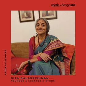 Gita Balakrishnan on turning 50 and her personal and professional renaissance.