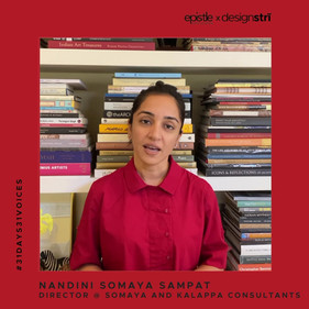 Nandini Somaya Sampat on why architects must contribute towards nation-building.