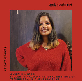 Ayushi Nigam on how generating awareness is the first step to effecting change.