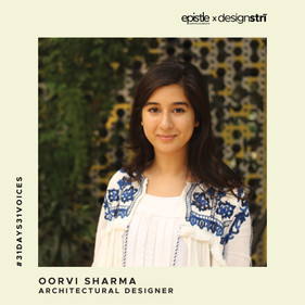 Oorvi Sharma on supporting local ecologies and nurturing equity through her work.