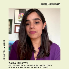 Zara Bhatti on why she and her partner set up their practice under their real names.