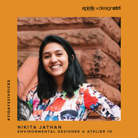 Nikita Jathan on how she found personal meaning in her work by confronting climate and culture.