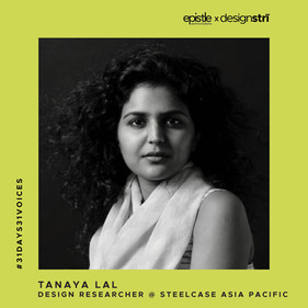 Tanaya Lal on design as a journey of constant experimentation and evolution.