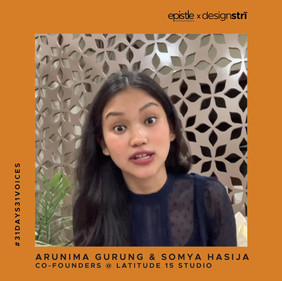 Arunima Gurung and Somya Hasija