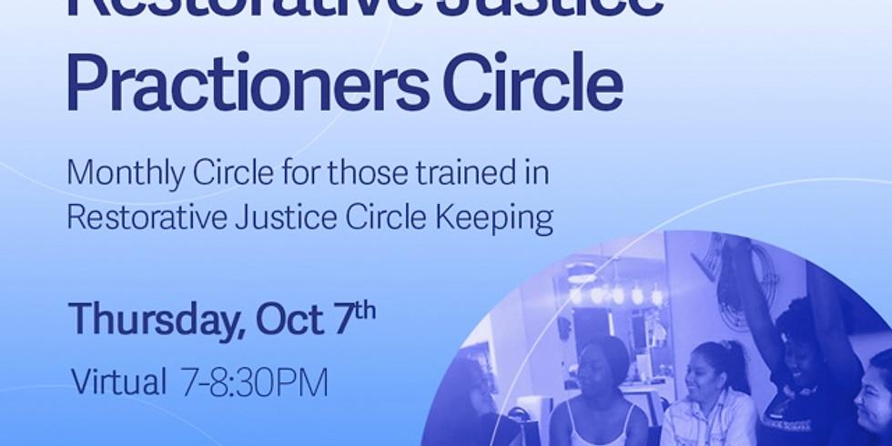 Restorative Justice Practitioners Circle