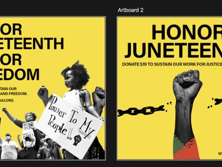 Honor Juneteenth, Honor Freedom!