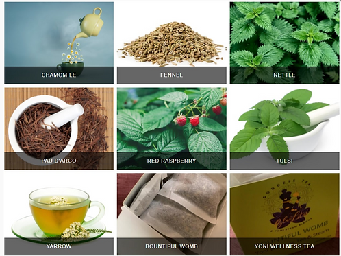 BOUNTIFUL WOMB Yoni Wellness Restorative Tea & Steam Blend