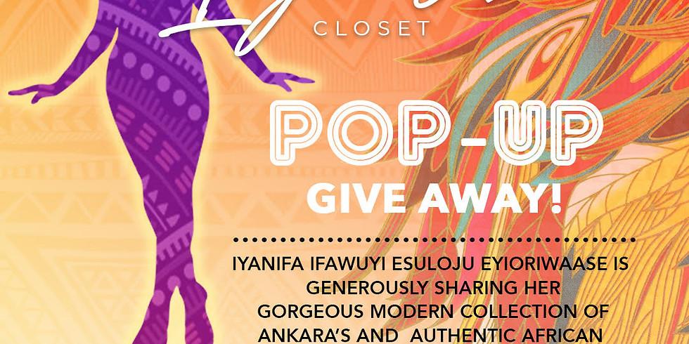 Iya's Closet Pop Up Giveaway!