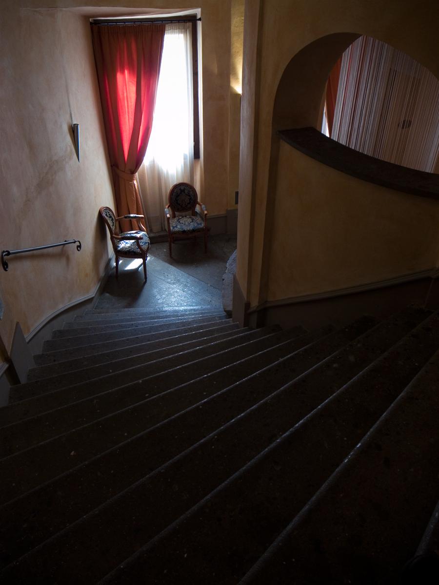Stairway, Rome, 2011