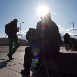 Street Musician, Berlin, 2009