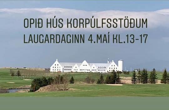Opið hús- Korpúlfsstöðum - Laugardaginn 4. mai kl.13-17