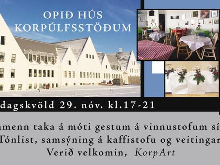 Open House at Korpúlfsstaðir