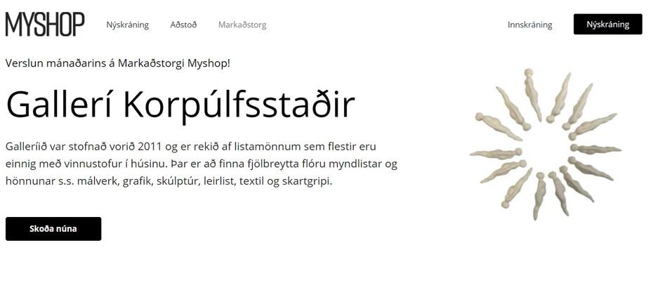 Verslun mánaðarins á Markaðstorgi Myshop!