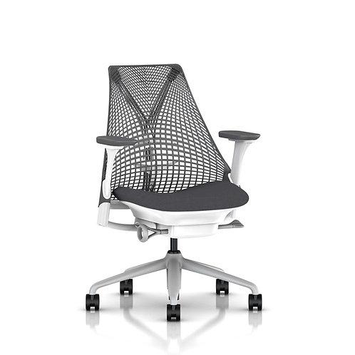 Adobe Sayl Chair - White/Grey