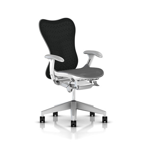 GoPro Herman Miller Mirra 2 with Adjustable Lumbar - Fog