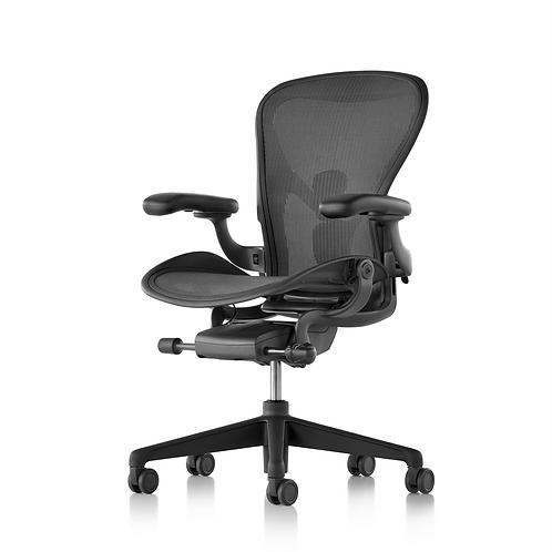 Netflix Herman Miller Aeron Task Chair - Graphite