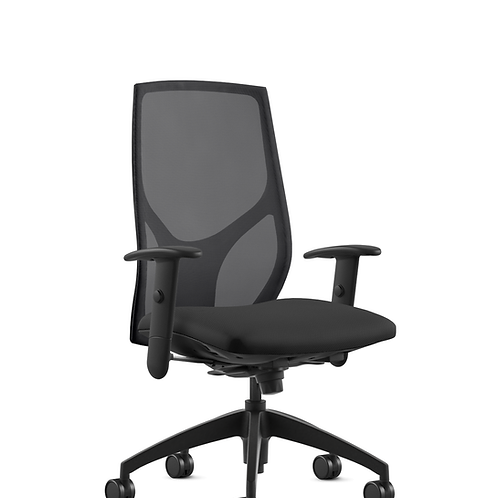 GNE 9 to 5 Vault Task Chair - Black