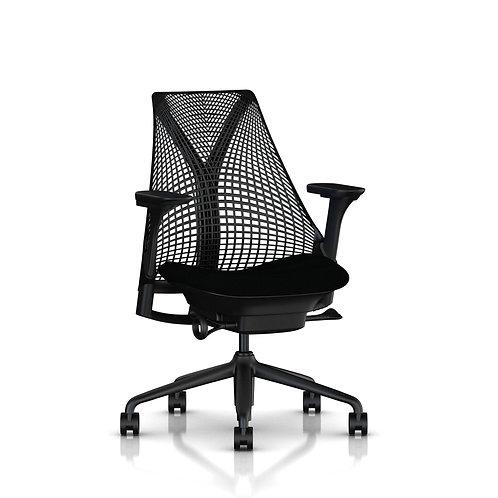 Intuit Sayl Chair - Black/Licorice