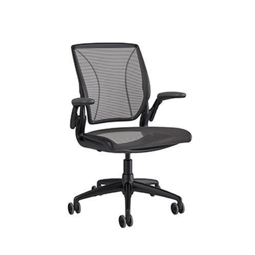 LinkedIn Humanscale Diffrient World All Mesh task chair