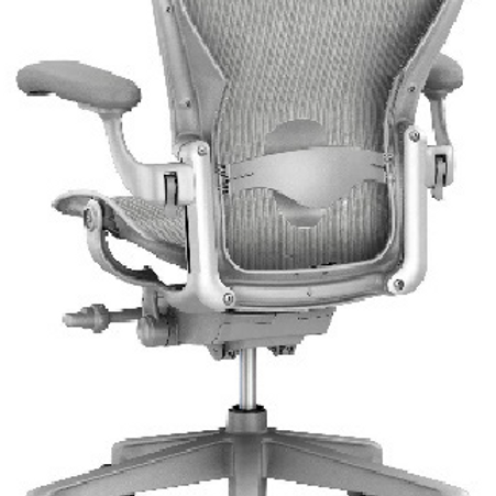 GoPro Aeron Lumbar Chair - Mineral