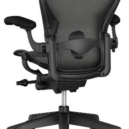 GoPro Aeron Lumbar Chair - Graphite
