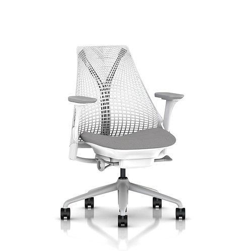 Intuit Sayl Chair - White/Shale