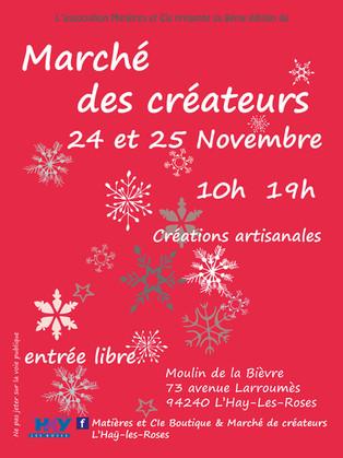 Expo-vente - Marché Créateurs L'Hay Les Roses (94).