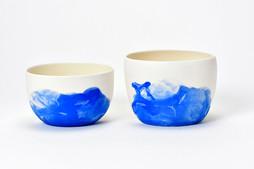 Bols et mini saladiers - Porcelaine - Collection Nébuleuses