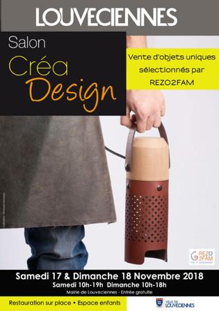 Expo-vente Novembre 2018 - Salon Créa Design - Louveciennes.