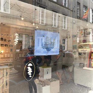 POINT DE VENTE, la boutique L'envolée, à Granville (50).