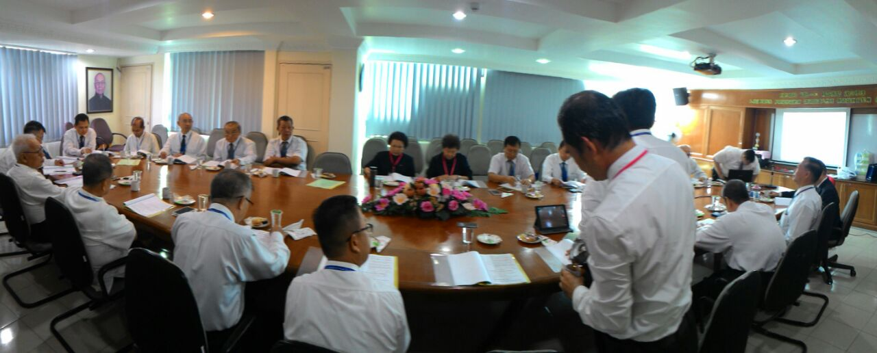 2016 0704馬來西亞一貫道總會第五屆理事會開會留影