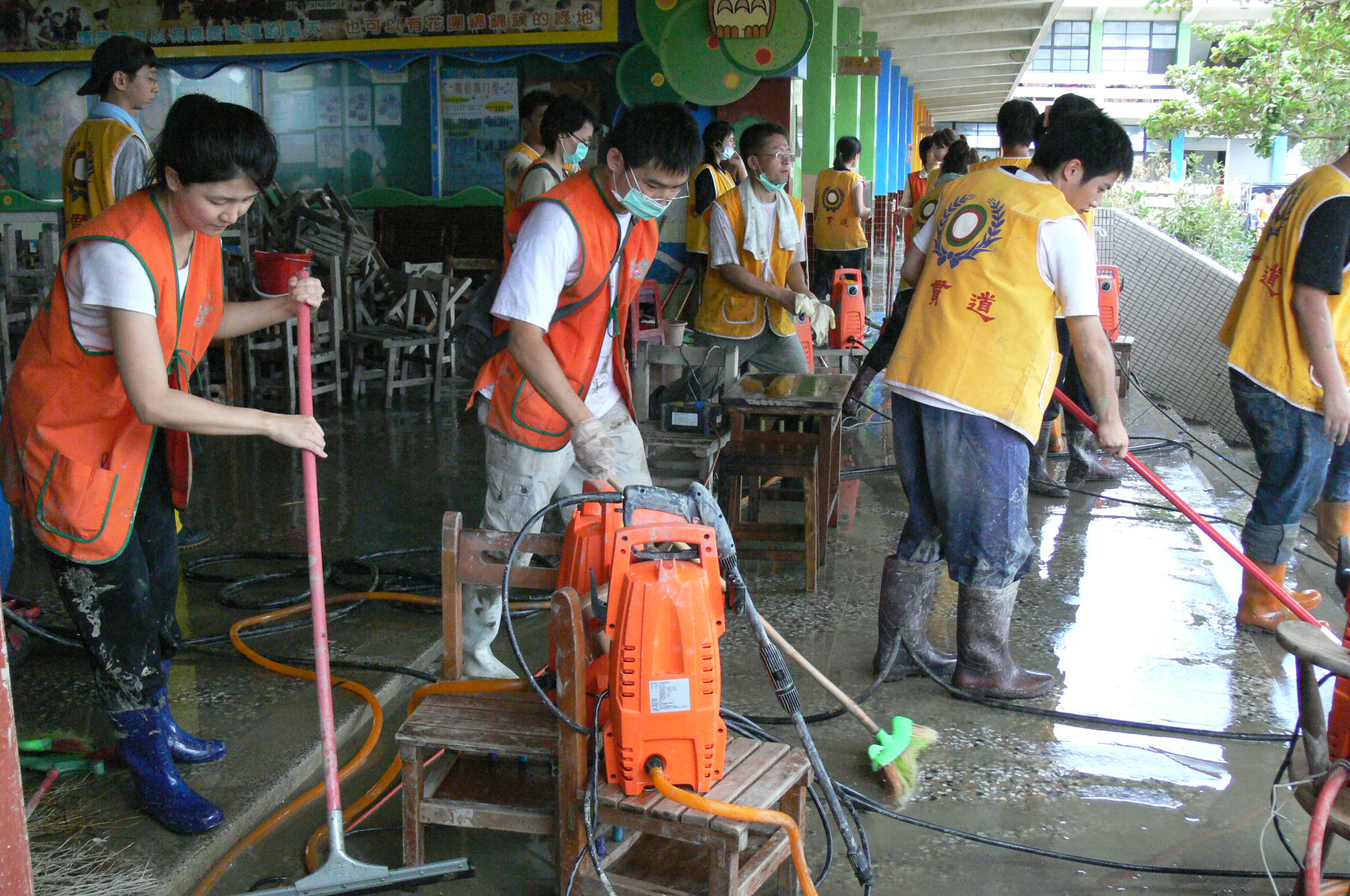 八八風災救災 2009