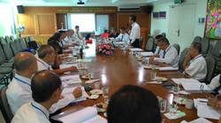 2016 0704馬來西亞一貫道總會第五屆理事會開會發言留影。