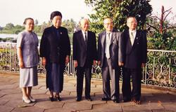 2000.05.16 泰國皇室邀約宴請留影