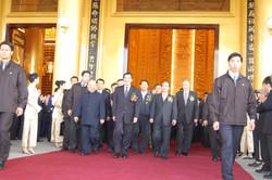 馬英九總統蒞臨神威天臺山道場落成啟用典禮