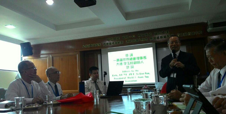 2016 0704馬來西亞一貫道總會第五屆理事會李玉柱理事長列席致賀。
