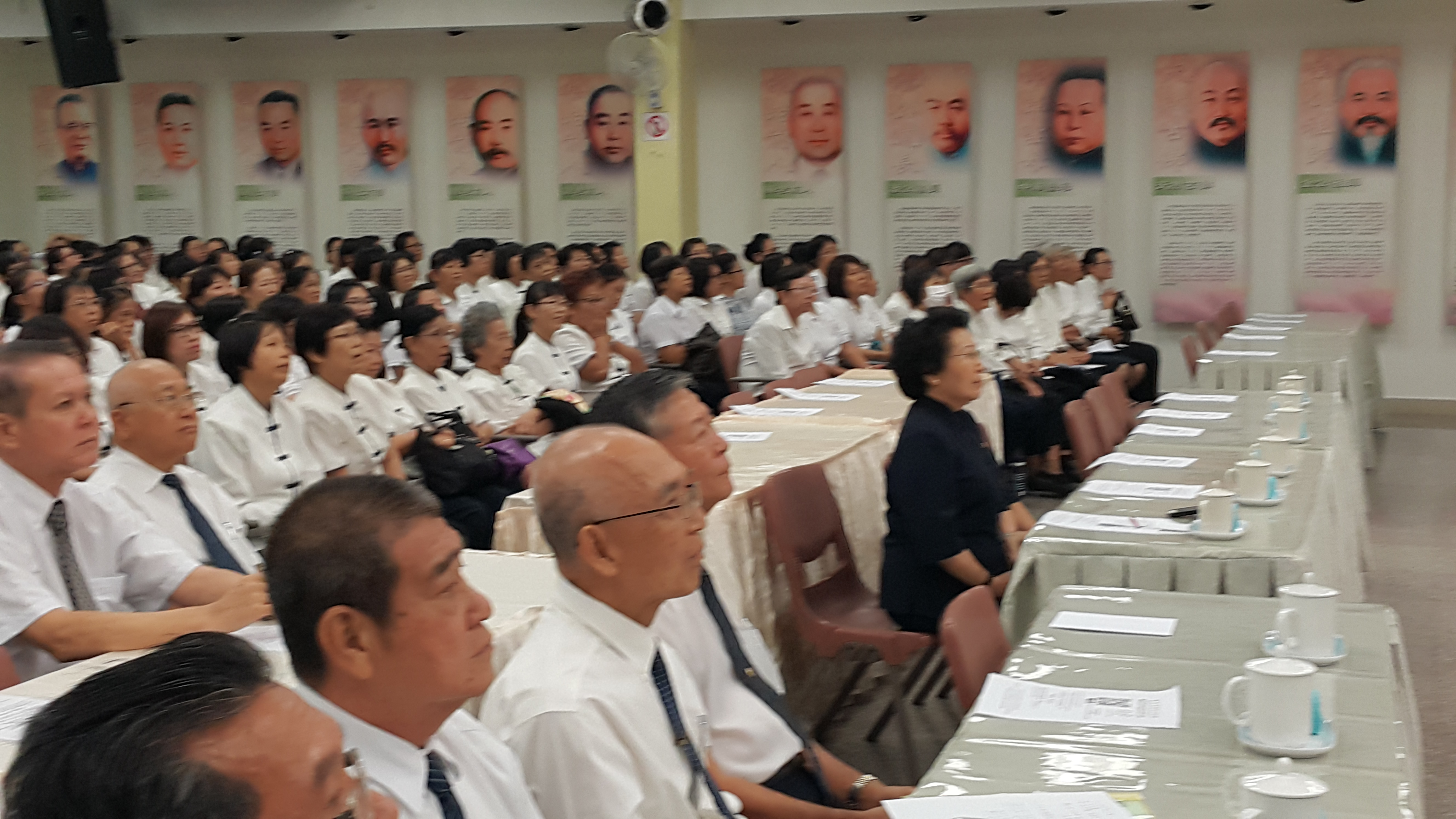 2016 0625馬來西亞一貫道總會道學講座會現場留影之一