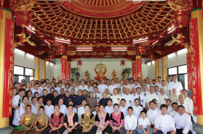 泰國 曼谷 宗通佛院 2010 年安壇
