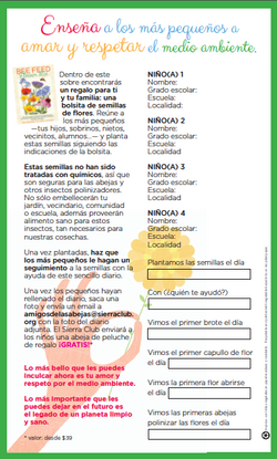 Questionnaire for kids (front)