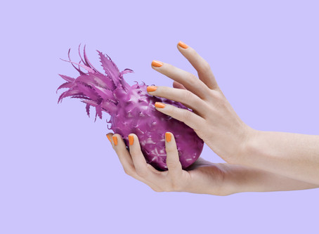 Purple Pineapples: a photo design series