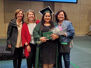 Graduating with Associates Degree