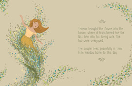 Serpent in the Wildflowers - Page Sample