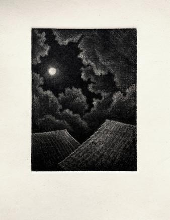 Moon over Terra Cotta