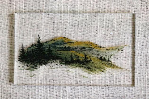Brushstroke Hills