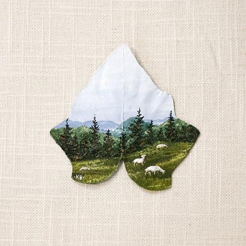 """Romanian Rain - 4x6"""" Mini Print"""