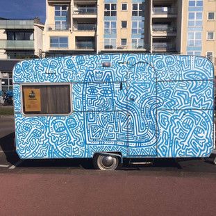 Food truck Le Chat Bleu
