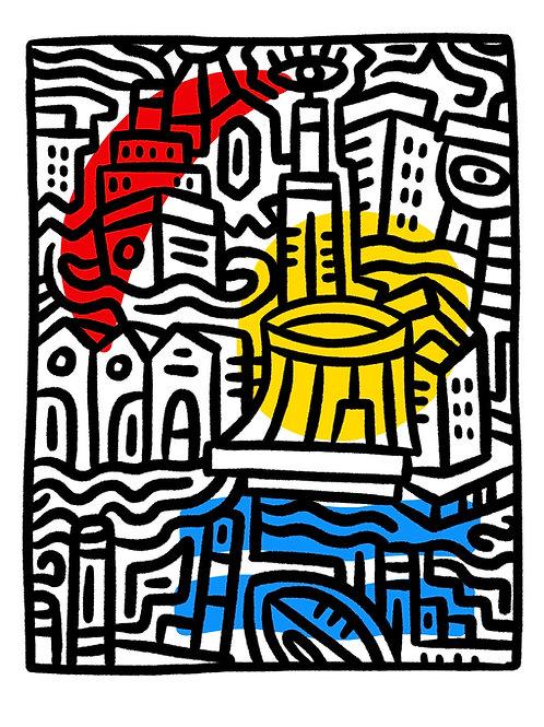 """Art Print """"Le Havre de Perret"""""""