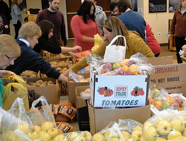 Volunteer to donate Thanksgiving food to Project Self-Sufficiency.