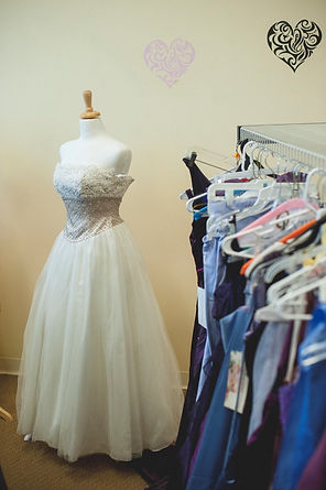 Free prom dresses available at Project Self-Sufficiency